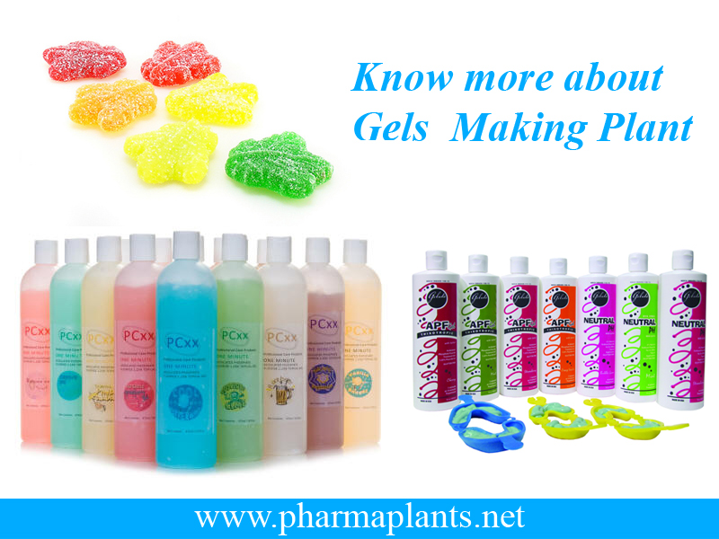 Gels Making Plant Supplier, Gels Making Plant India